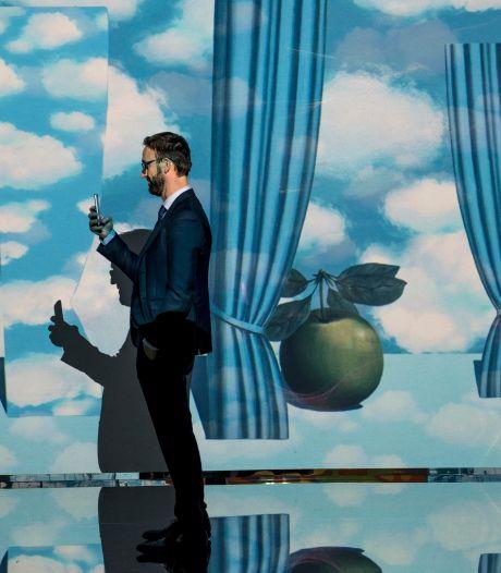 """""""Inside Magritte"""" à la Boverie, l'exposition immersive entre art digital et surréalisme"""