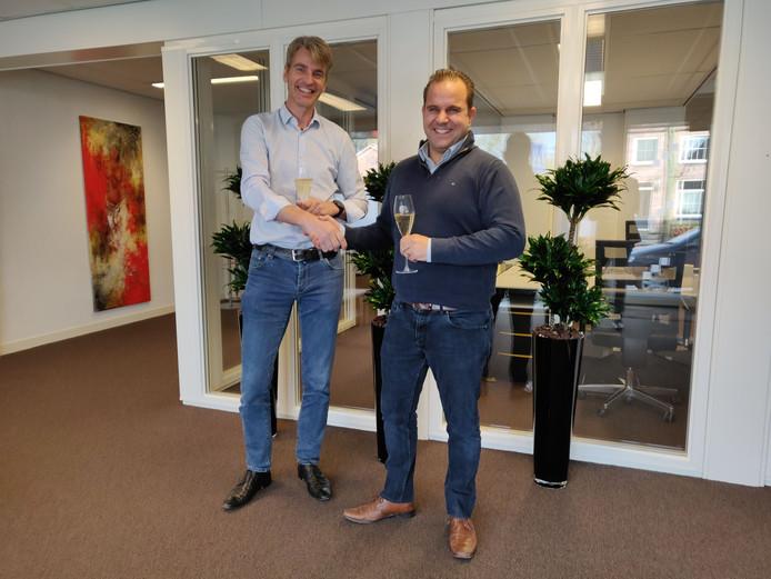 Jan Timmers (links) en Ron Stevens.