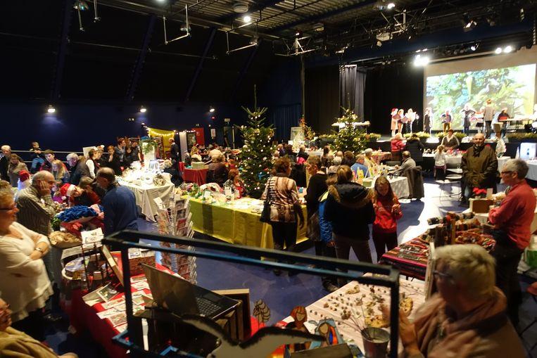 LEFFINGE - Artisanale kerstmarkt in de Zwerver
