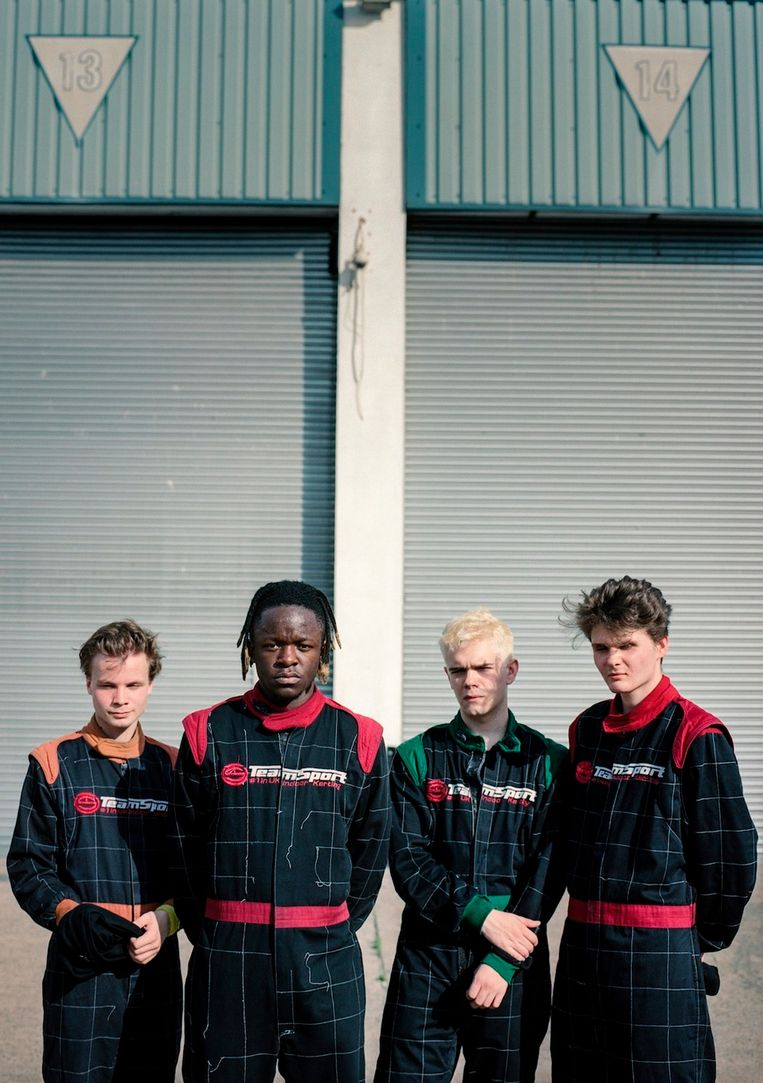 De Londense band Black Midi. Beeld rv