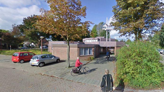 Het kerkgebouw van de Nieuw Apostolische Kerk van Nederland.