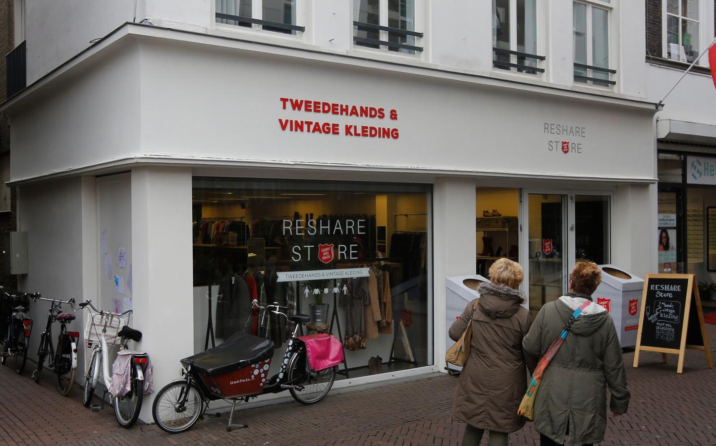 De ReShare Store op de Voorstraat in Dordrecht.