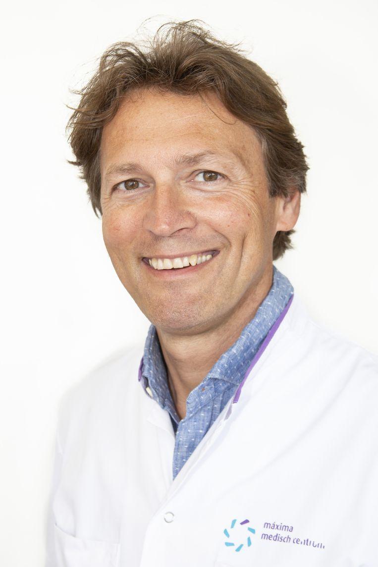 Oogarts Frank Kerkhoff. Beeld Máxima Medisch Centrum
