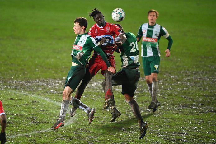 Lommel ging deze week onderuit in de zestiende finales van de Belgische beker tegen Kortrijk (1-3).