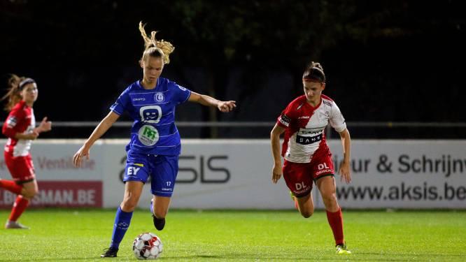 """Lore Jacobs (AA Gent Ladies) na 3-0 tegen Charleroi: """"Geen moeilijke match, maar lang wachten op goals"""""""
