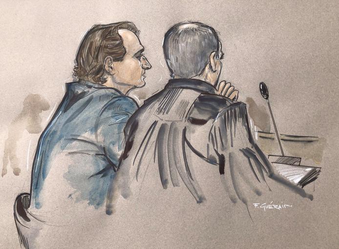 Verdachte Mark de G. tijdens een eerdere zitting.
