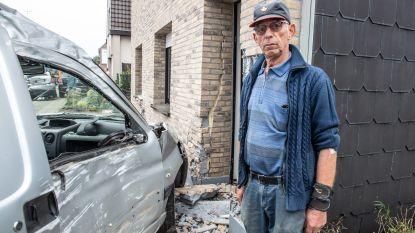"""Voor derde keer in jaar tijd belandt auto in gevel op N60: """"Wanneer stopt die waanzin hier eens?"""""""