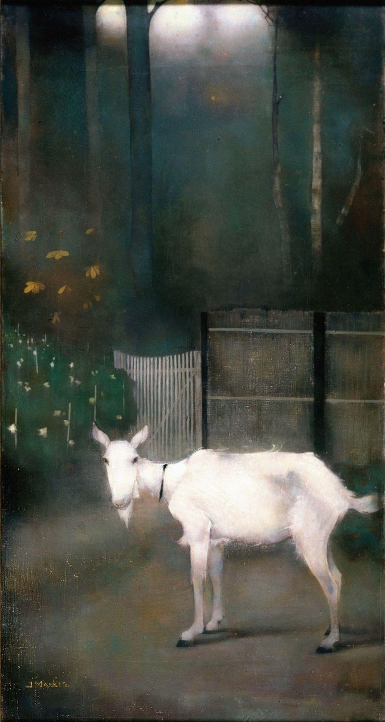 Een oude geit van Jan Mankes. Beeld Alamy Stock Photo