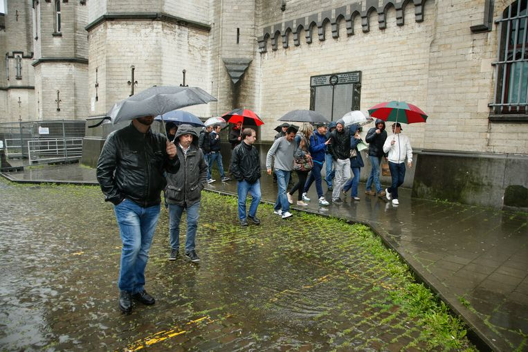 Cipiers in Sint-Gillis staken vanwege het capaciteitsprobleem.