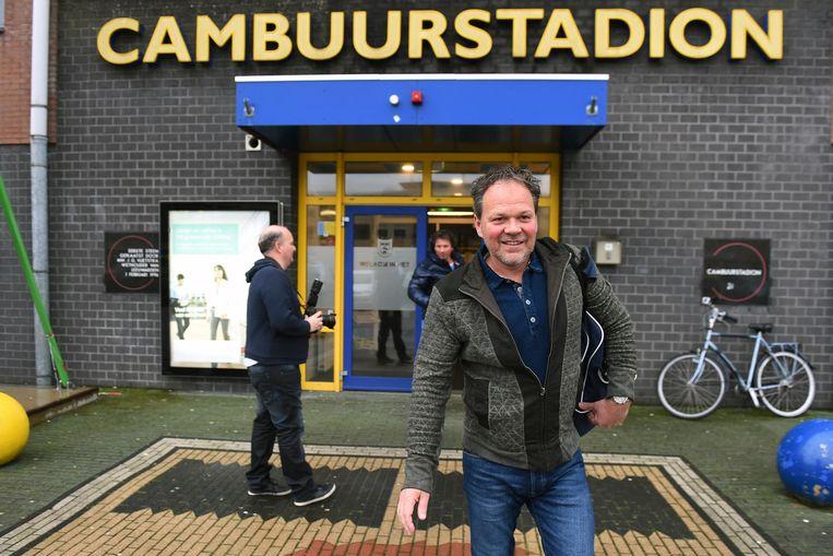 De dinsdag opgestapte trainer Henk de Jong Beeld anp