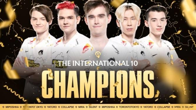 Team Spirit wint onverwacht WK Dota 2 en bijna 16 miljoen euro