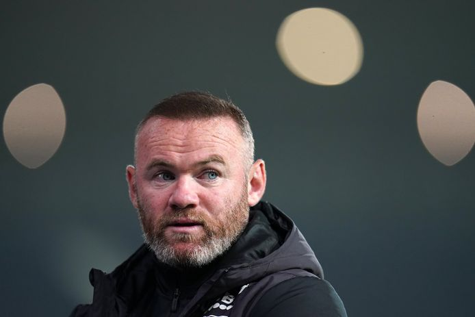 Derby County manager Wayne Rooney reacts after the final whistle during the Sky Bet Championship match at The Hawthorns, West Bromwich. Picture date: Tuesday September 14, 2021. ! only BELGIUM !