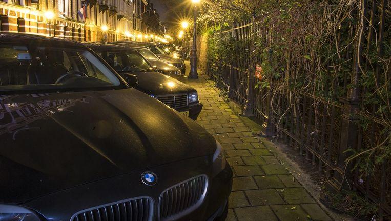 In de Vossiusstraat wordt veel in auto's ingebroken Beeld Marc Driessen