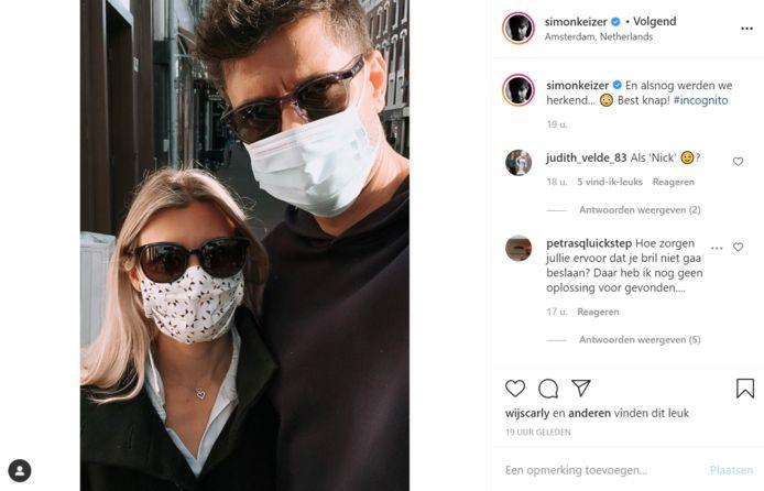 Instagram Simon Keizer