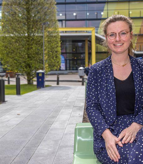 Lisa Wilderink (26) doet onderzoek naar gezondheid in Zwolle: 'Nog genoeg stappen te zetten'