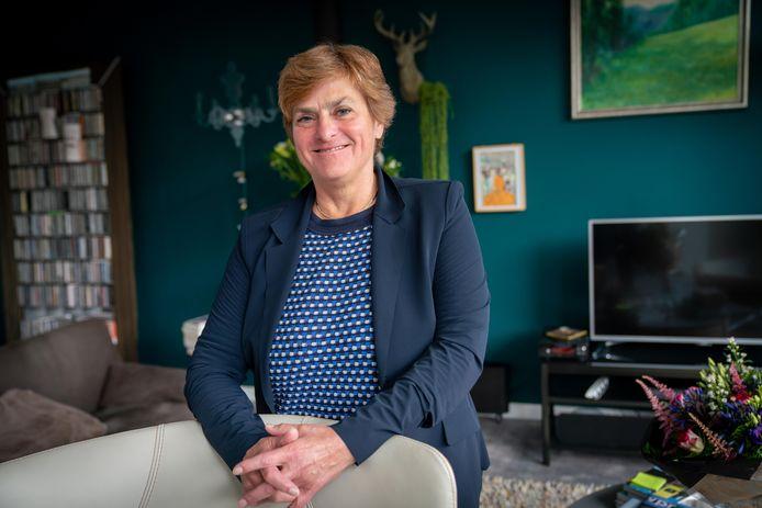 Nelly Kalfs, burgemeester van Lingewaard én voorzitter van de Nederlandse riviergemeenten.
