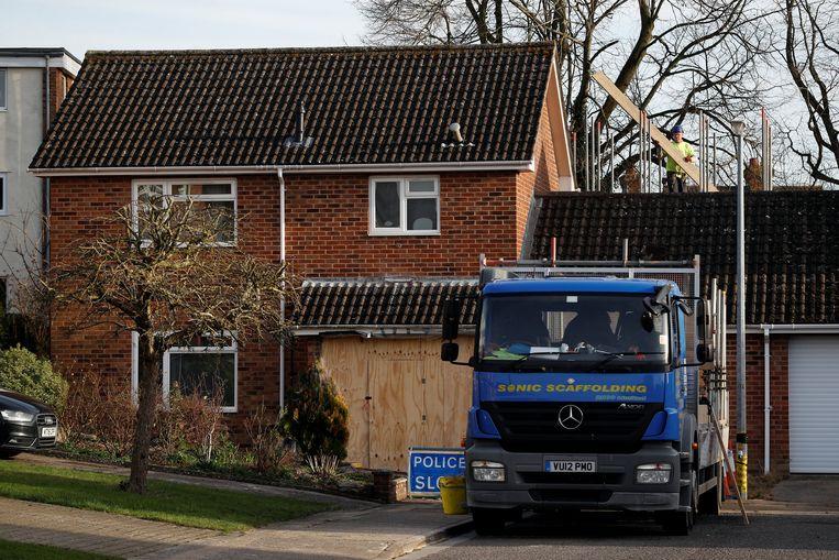 Sergej Skripal en zijn dochter werden vorig jaar vergiftigd in zijn woning in Salisbury. Beeld REUTERS