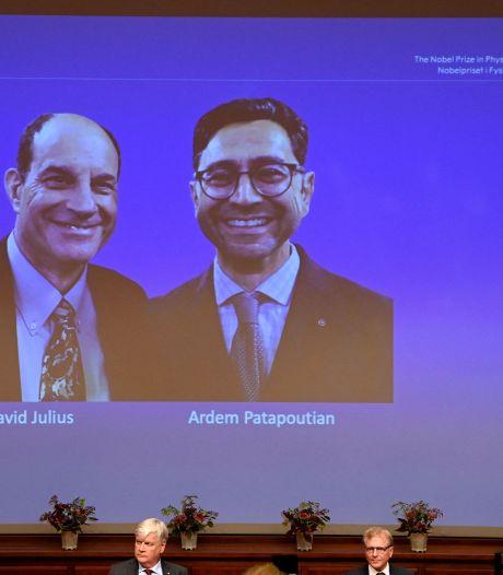 Le Nobel de médecine aux Américains David Julius et Ardem Patapoutian