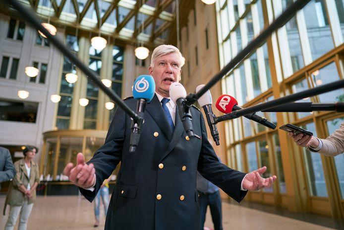 Korpschef Henk van Essen.