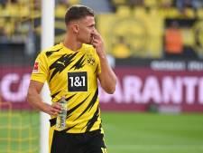 Thorgan Hazard reprend les entraînements collectifs à Dortmund