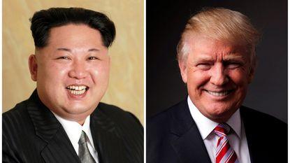 """Donald Trump vindt Kim Jong-un een """"behoorlijk leep ventje"""""""