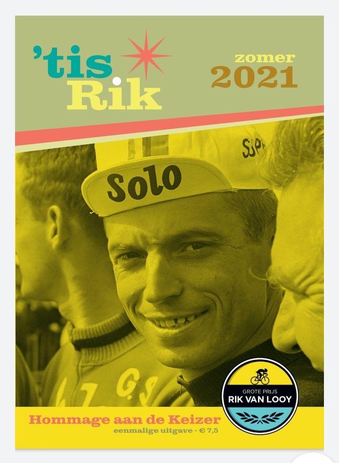 De cover van het nieuwe boek over Rik Van Looy