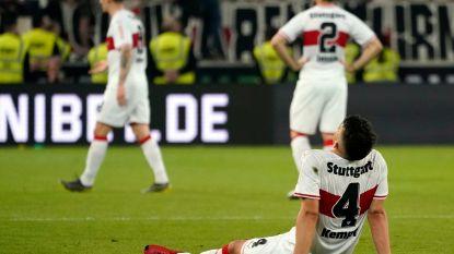 Football Talk (23/5). Stuttgart flirt met degradatie na eerste barragematch - Vanderhaeghe riskeert twee duels schorsing