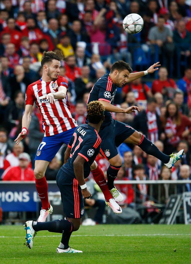 Yannick Carrasco trekt met Atlético Madrid in groep D onder meer naar Bayern München, een heruitgave van de halve finale van de Champions League van vorig seizoen. Beeld REUTERS