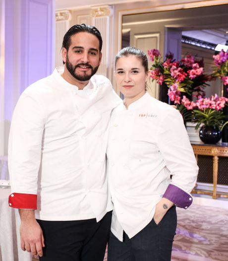 """Une finale sous pression: qui de Sarah ou de Mohamed remportera """"Top Chef"""" ce soir?"""