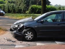 Vooral blikschade bij botsing auto's in Wanroij