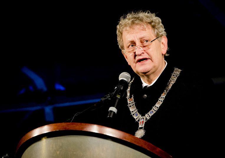 Eberhard van der Laan, burgemeester van 2010 - 2017. Beeld anp