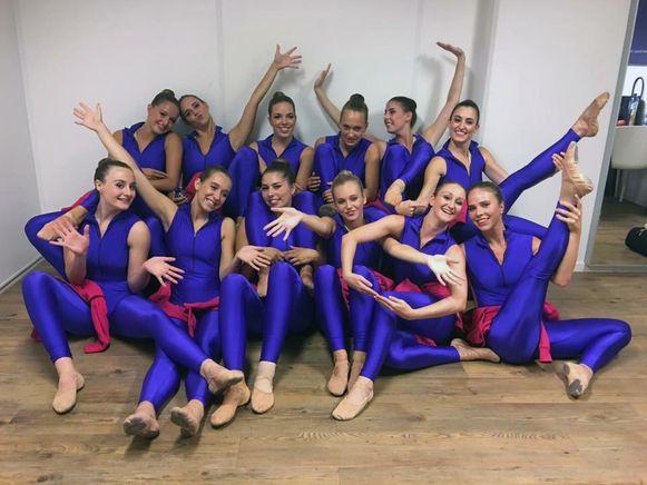 De Aira Girls zijn bekend in Leuven als de cheerleaders voor Leuven Bears.
