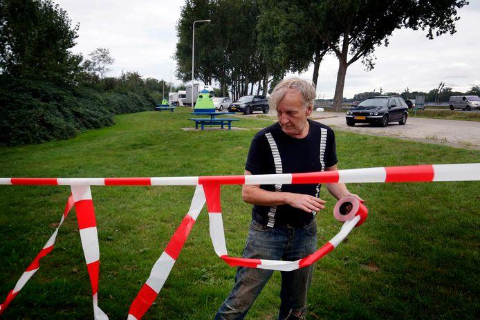 Henk van der Zouwen (64) is een vaste bezoeker van de homo-ontmoetingsplek langs de A15.