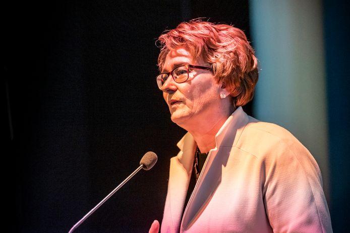 Burgemeester Wobine Buijs