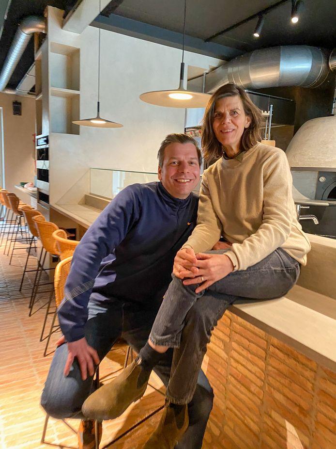 Eric Maes en Anja Snauwaert van Rocco Eats in Oostende.