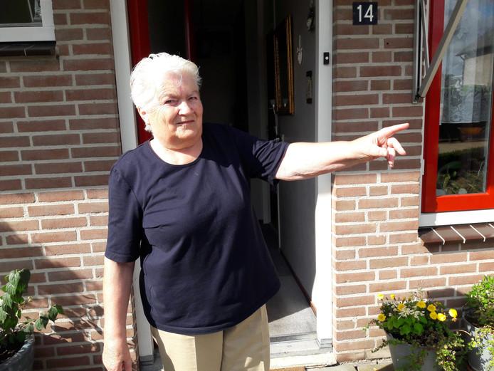 Mevrouw De Bruin: ,Met dank aan de waterdrager'.