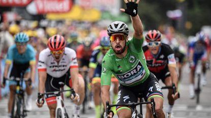 Hattrick voor Sagan in Tour, Van Avermaet sprint naar vijfde plek