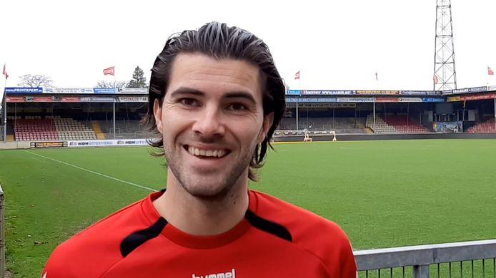 Gino Bosz is blij met zijn nieuwe club.