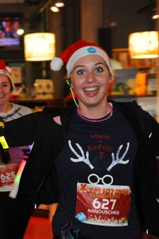 X-mas City Trail op Bellamypark Vlissingen