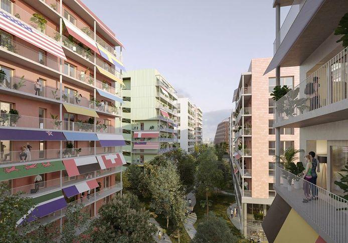 Zo zal het olympisch dorp in Parijs  eruitzien.