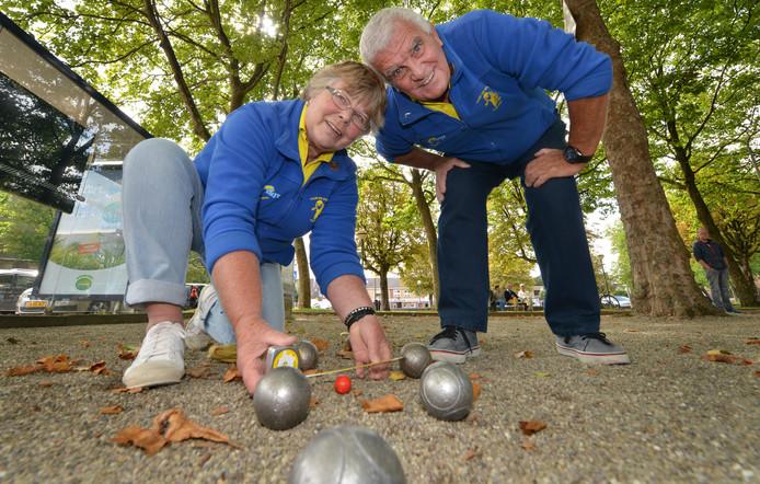 Gerry Verheul en Gerard Elsing: 'Dit is de leukste sport die er bestaat'.