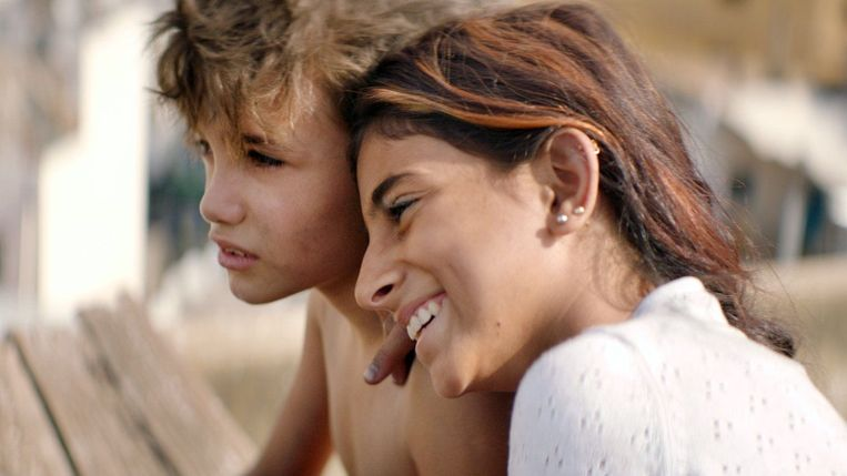 Zain Al Rafeea en Cedra Izzam in 'Capharnaüm' Beeld TMDB
