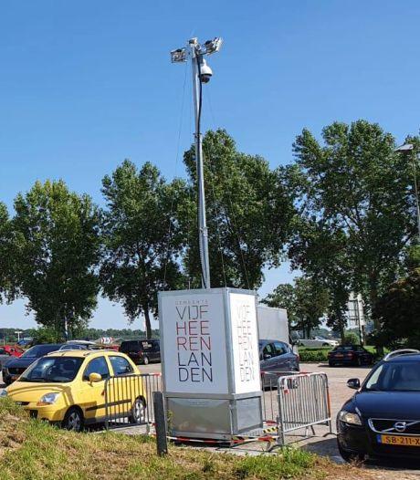 Criminelen durven niet meer: mobiele camera op parkeerplaats brengt auto-inbraken naar nul
