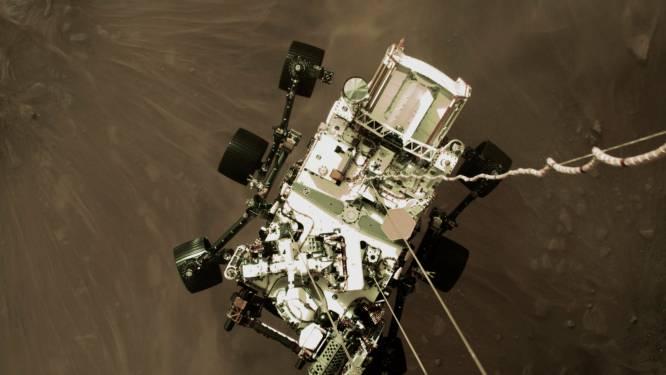 NASA toont machtige landingsfoto van Perseverance