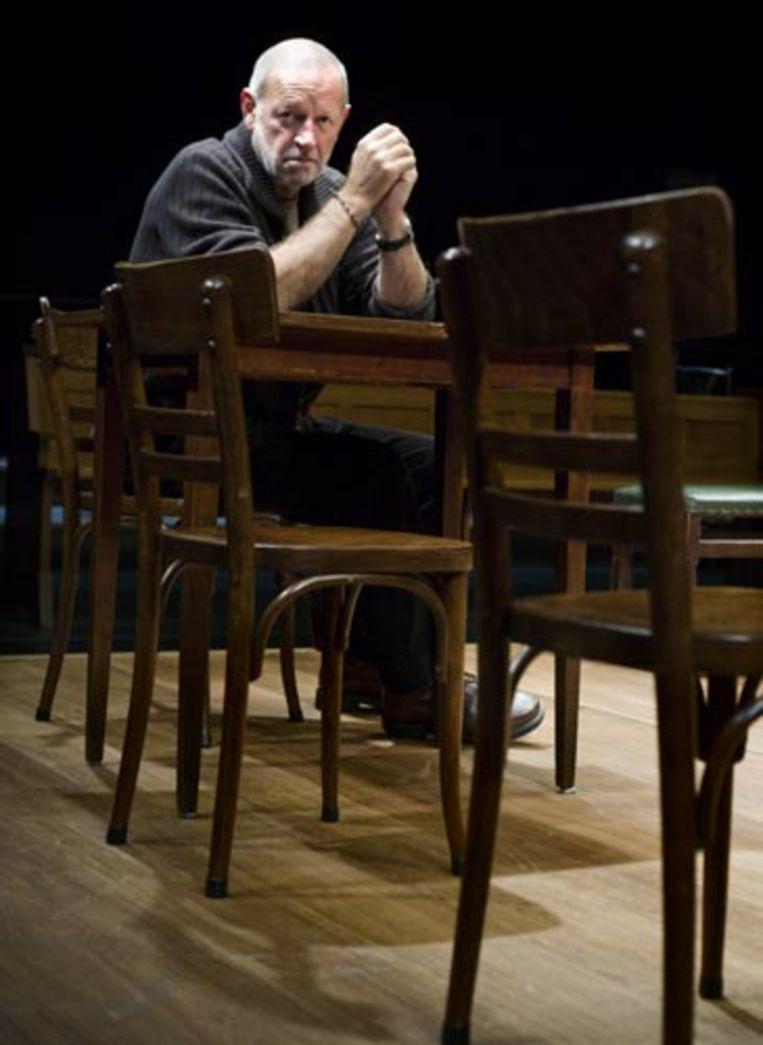 Franz Marijnen, regisseur van Heksenjacht, gespeeld door het Nationaal Toneel. (Martijn Beekman - de Volkskrant) Beeld
