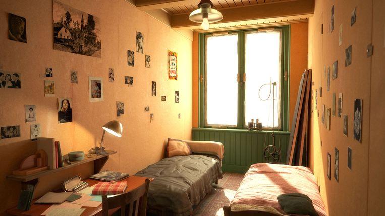 Het Anne Frank Huis organiseert virtuele rondleidingen tijdens de Nationale Museumweek. Beeld