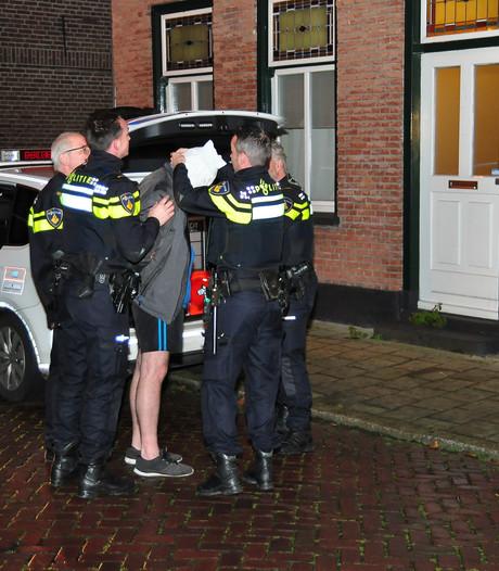 Man die huisgenoten bedreigde met mes in Waalwijk 'komt er niet meer in'