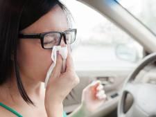 Hooikoorts? Zo voorkom je niesaanvallen in de auto