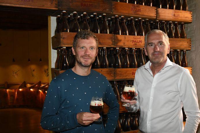 Jan De Cock en Peter Buelens van Palm Breweries.