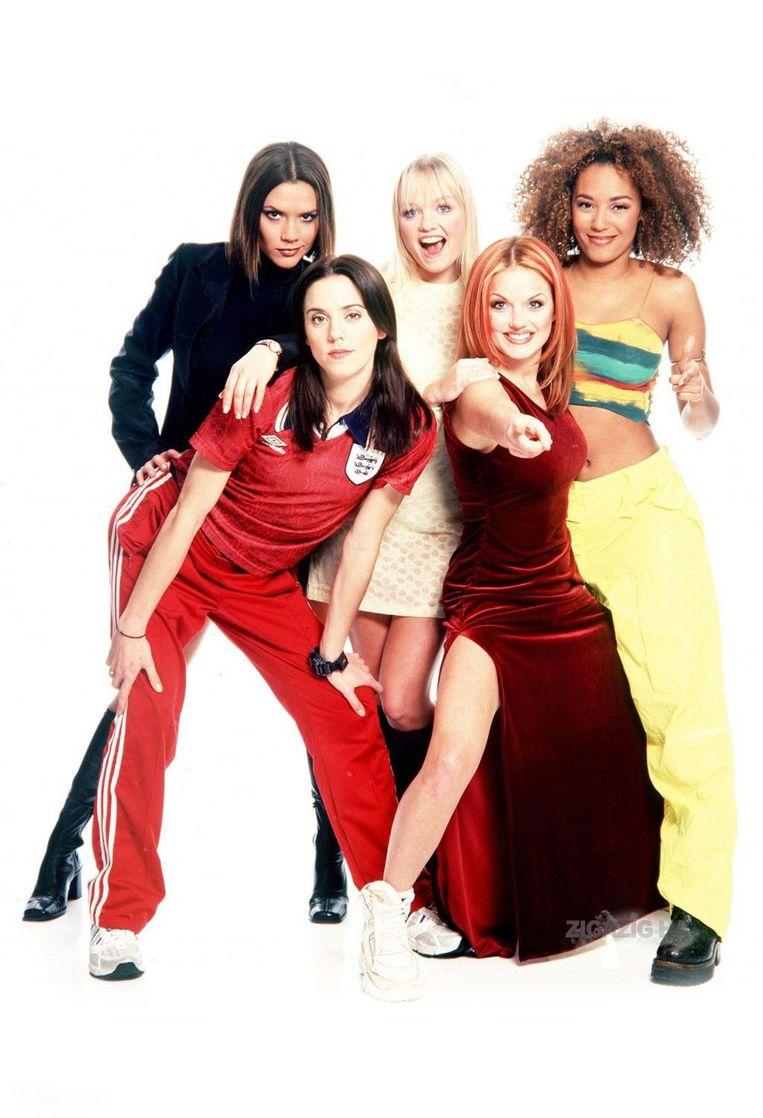 De Spice Girls in hun gloriedagen. Beeld rv